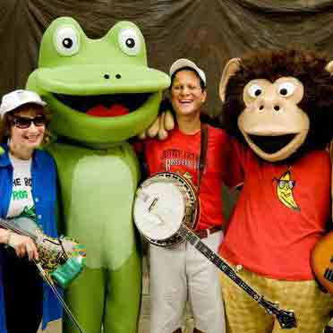 Milk and Cookies Playhouse presents The Bossy Frog Band's Old Tyme Carnival Show!