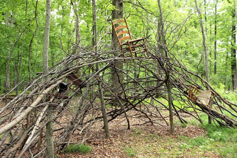 Opening Reception - Sculpture in the Woods