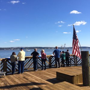 Tappan Zee Bridge Viewing Platform, Memorial Park Nyack