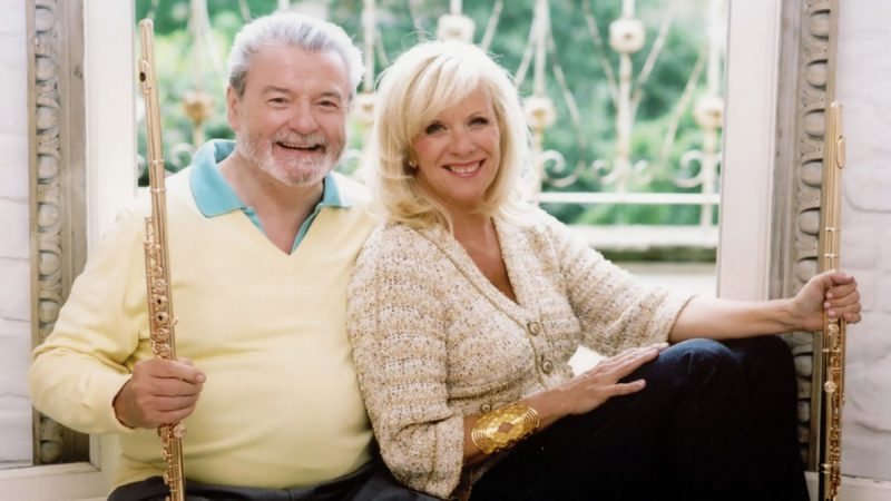 Sir James Galway and Lady Jeanne Galway
