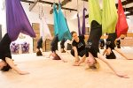 Learn the basics of AntiGravity aerial yoga & fitness