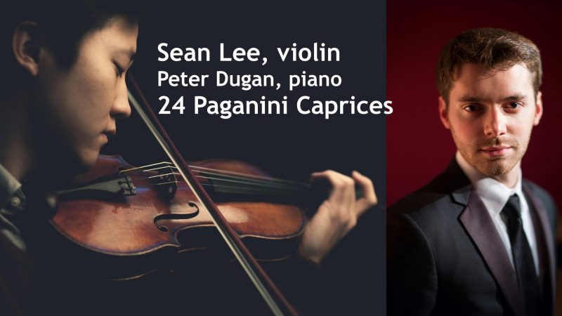 ArtsRock presents 24 Caprices with Sean Lee & Peter Dugan