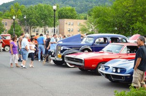 Classic Car Night, photo courtesy of the Nyack Chamber of Commerce