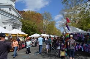 SpringFest Street Fair, photo courtesy of Meg Mayo