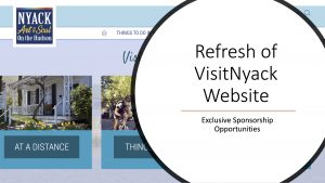 VisitNyack.org Website Refresh Project