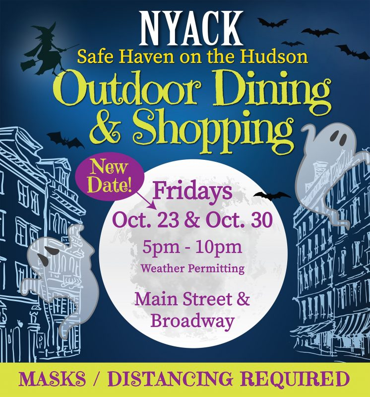 Nyack Outdoor Shopping and Dining Event