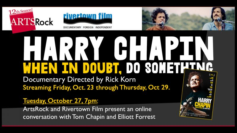 Harry Chapin: When in Doubt Film