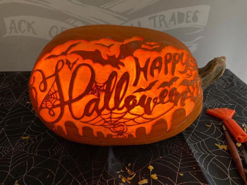 Pumpkin Carving at Dragon's Den