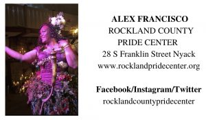 Alex Francisco, Rockland County Pride Center