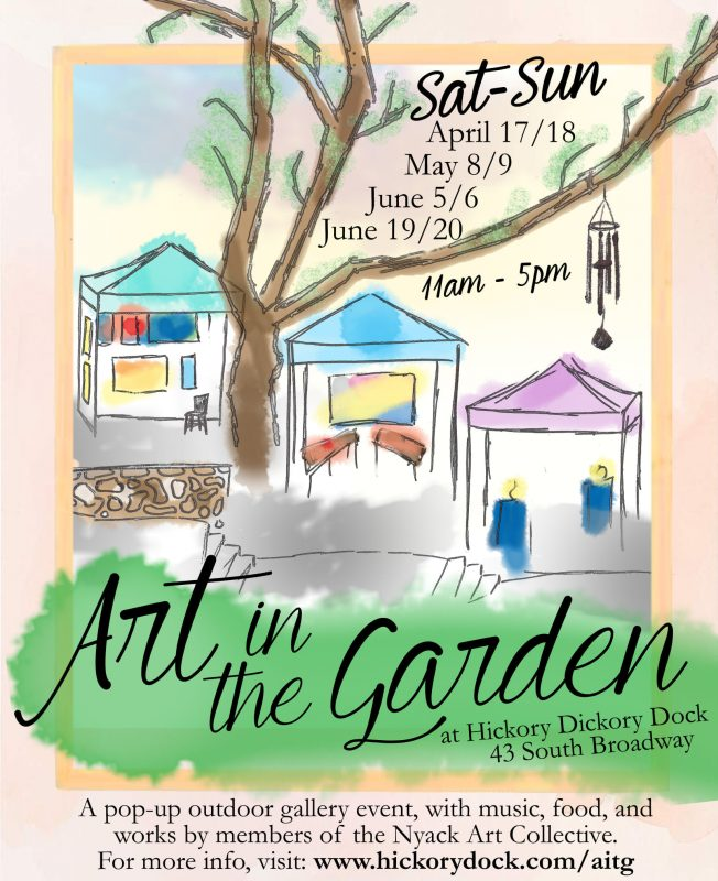 Art In the Garden at Hickory Dickory Dock