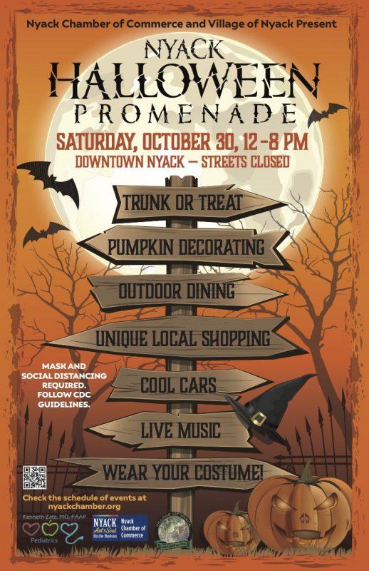 Nyack's Halloween Promenade