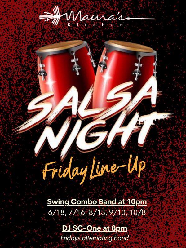 Salsa Night at Maura's Kitchen