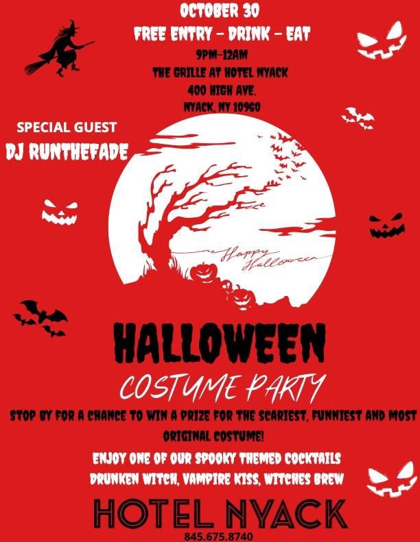 Hotel Nyack's Halloween Costume Party