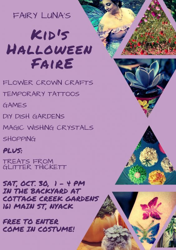 Halloween Faire at Cottage Creek Gardens