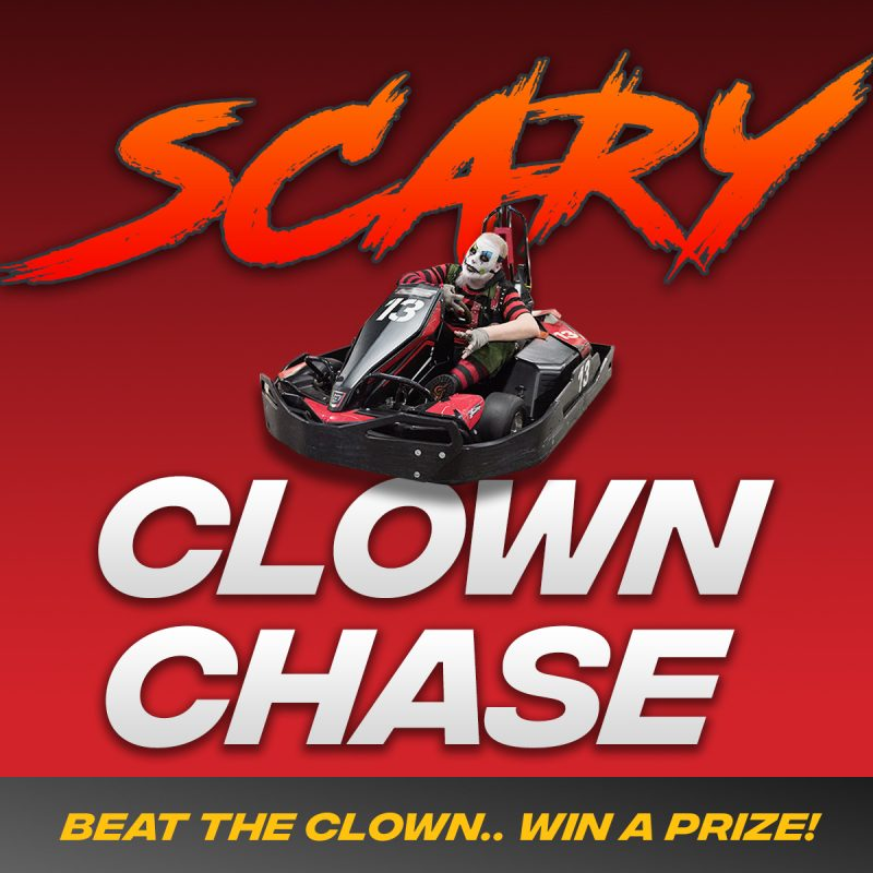 Scary Clown Chase!