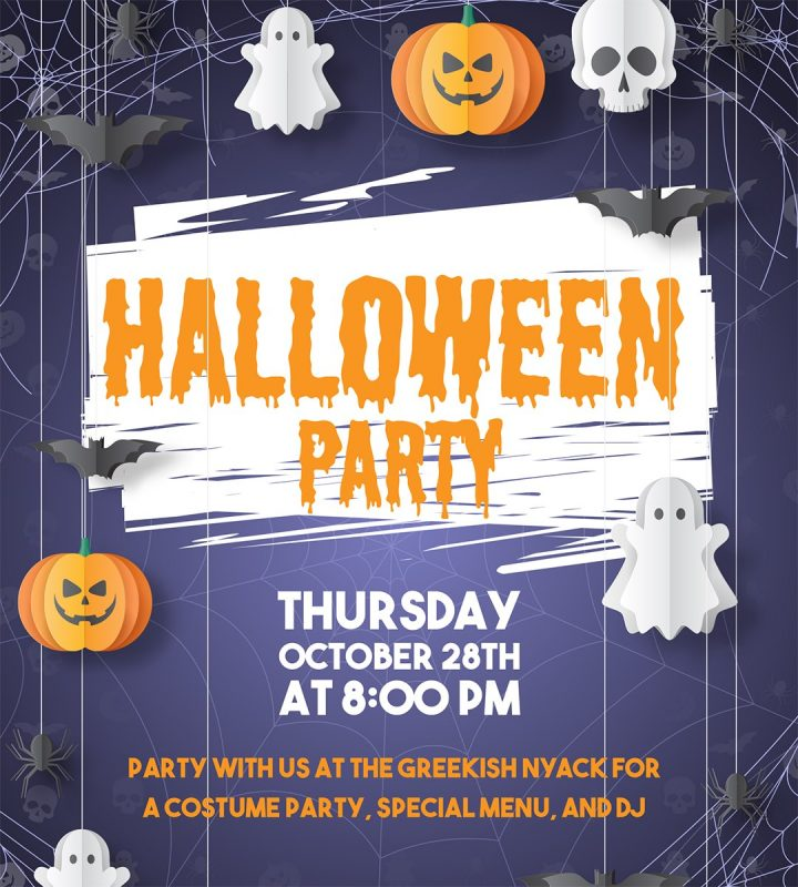Halloween Party at The Greekish
